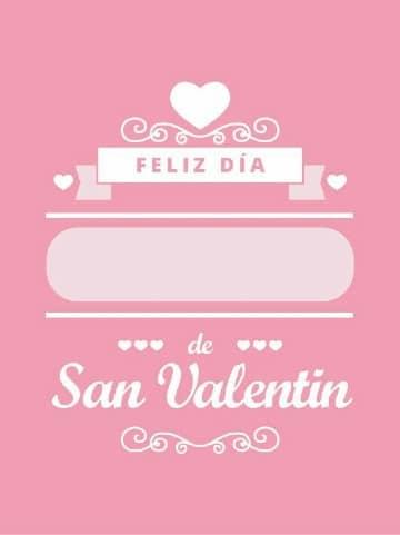 tarjetas de san valentin gratis para editar