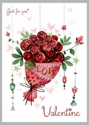 tarjetas de san valentin gratis para imprimir