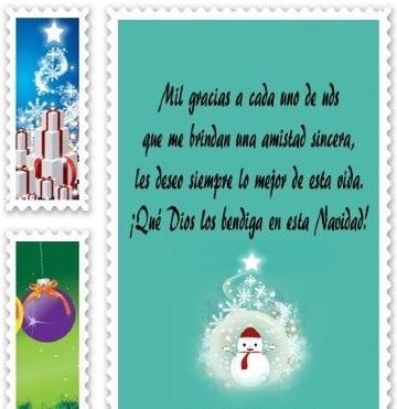 cartas de navidad para amigos gratis