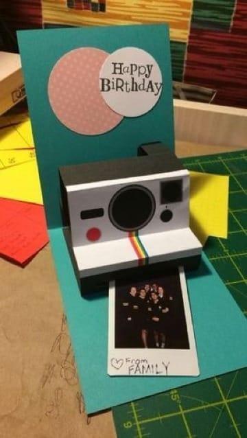 ideas de tarjetas de cumpleaños creativas