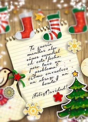imagenes de cartas de navidad para amigos