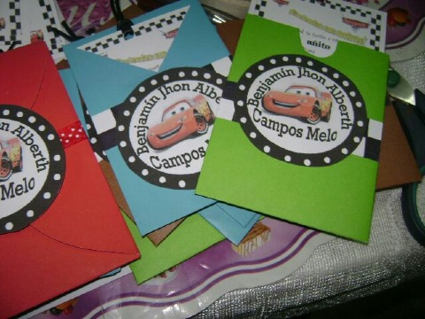 imagenes de tarjetas de cumpleaños de cars