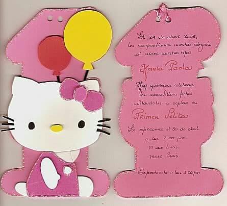imagenes de tarjetas de cumpleaños de hello kitty