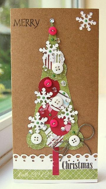 imagenes de tarjetas navideñas caseras