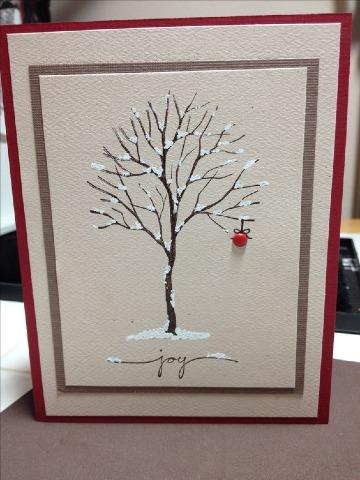 imagenes de tarjetas navideñas decoradas