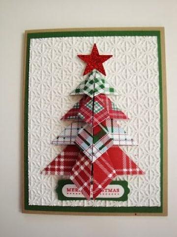 imagenes de tarjetas navideñas faciles de hacer