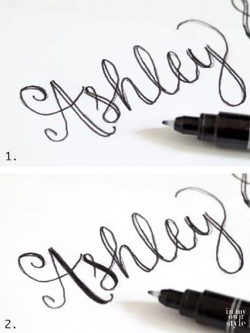 letras bonitas para escribir nombres faciles
