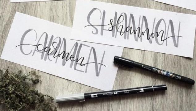 modelos de letras bonitas para escribir nombres