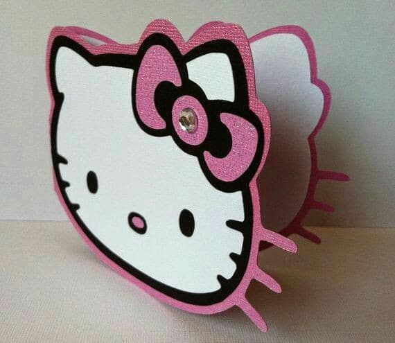 modelos de tarjetas de cumpleaños de hello kitty