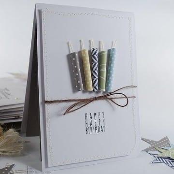 tarjetas de cumpleaños creativas faciles de hacer