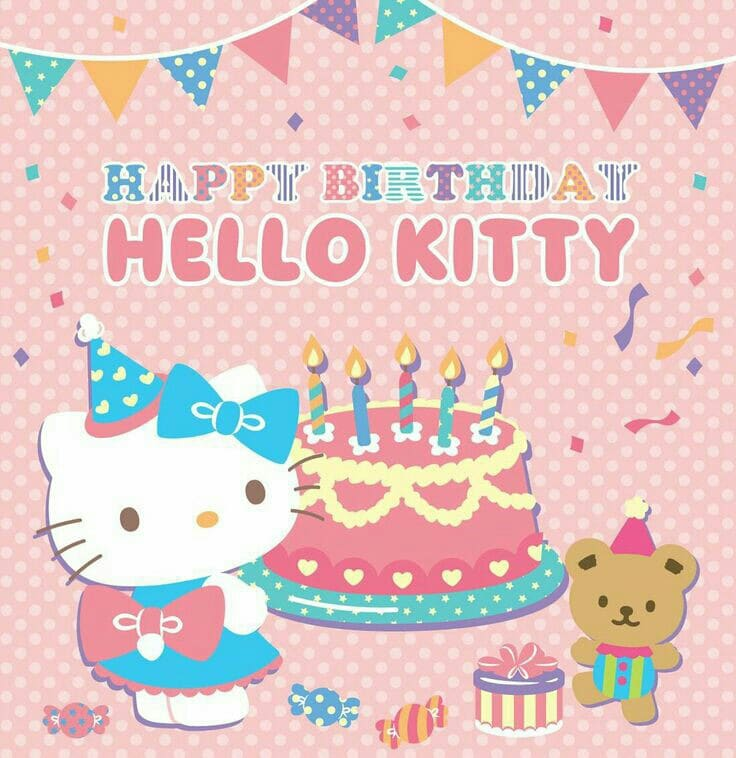 tarjetas de cumpleaños de hello kitty gratis