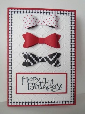 tarjetas de cumpleaños formales para regalar
