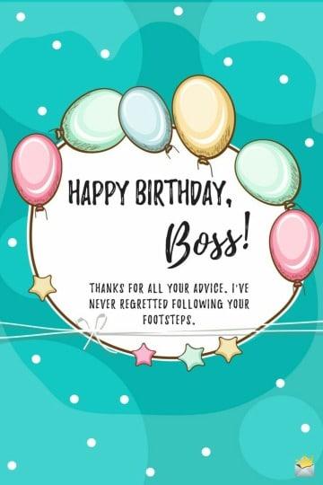 bonitas tarjetas de cumpleaños para el jefe