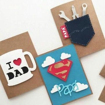 ideas de tarjetas del dia del papa