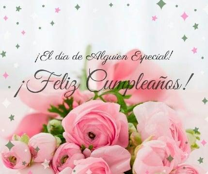 imagenes de tarjetas de cumpleaños con flores