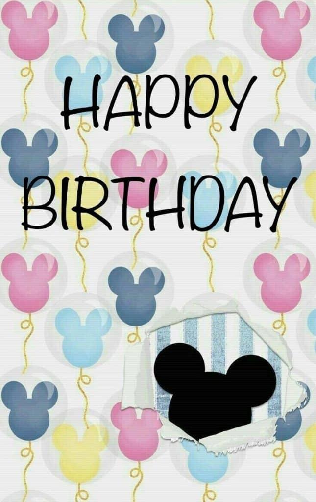 imagenes de tarjetas de cumpleaños de mickey