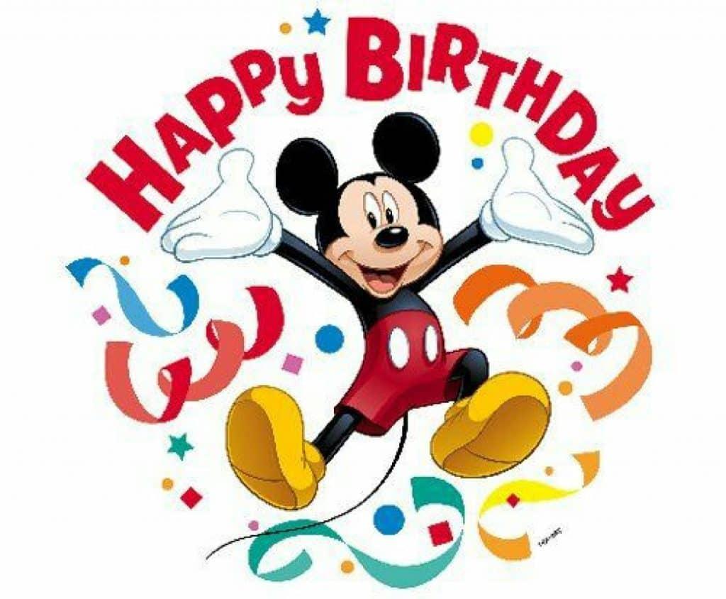 tarjetas de cumpleaños de mickey para enviar