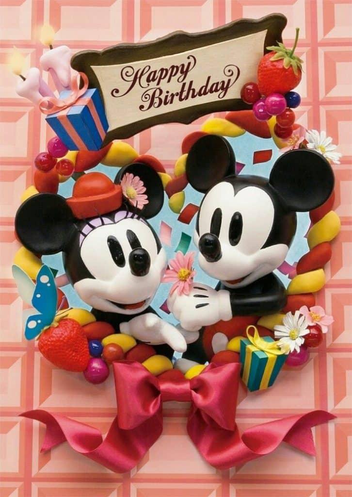 tarjetas de cumpleaños de mickey para imprimir