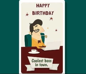 tarjetas de cumpleaños para el jefe para imprimir