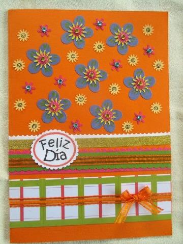 tarjetas hechas de cartulina faciles