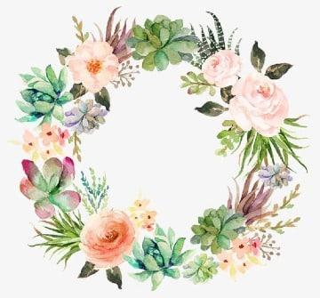 como hacer marcos de flores naturales