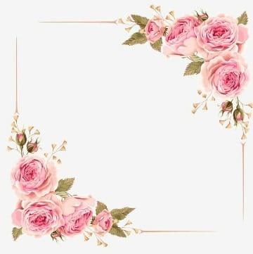 fondos de flores para invitaciones para editar e imprimir