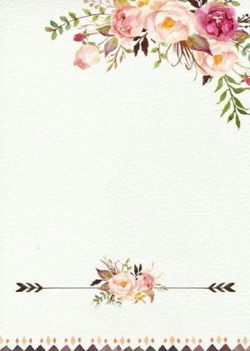 imagenes de fondos de flores para invitaciones