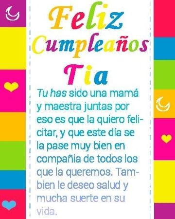 5 Frases De Cumpleaños Para Mi Tia Puestas En Tarjetas