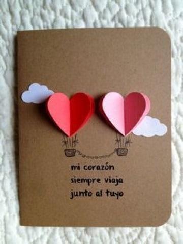 modelos de tarjetas para san valentin sencillas
