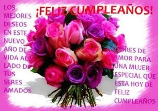 tarjetas de cumpleaños para mujeres especiales