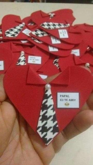 tarjetas en forma de corazon para el dia del padre