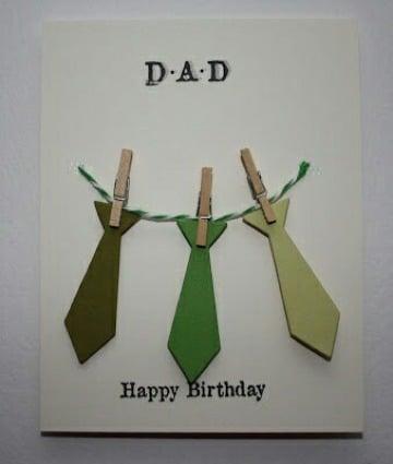 como hacer tarjetas de cumpleaños para papa