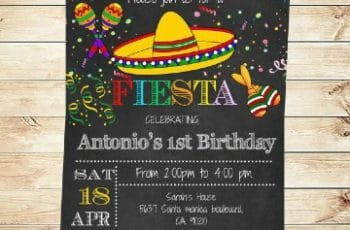imagenes de invitaciones para fiesta mexicana