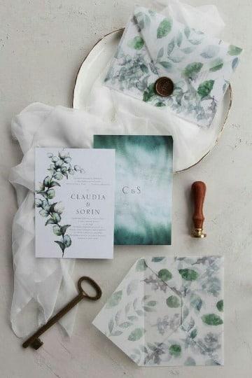 imagenes de sobres para invitaciones de boda