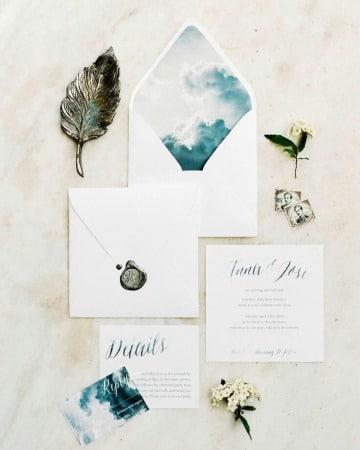 modelos de sobres para invitaciones de boda