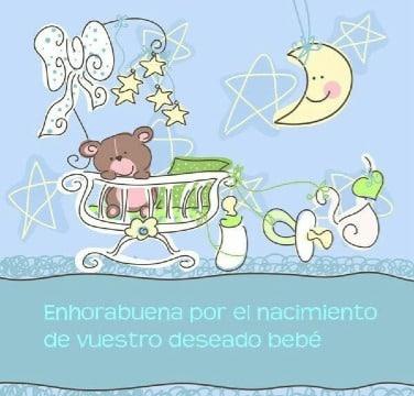 tarjetas de felicitaciones por nacimiento de hijo