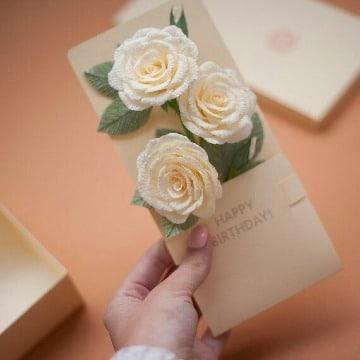 tarjetas elegantes de cumpleaños para mama