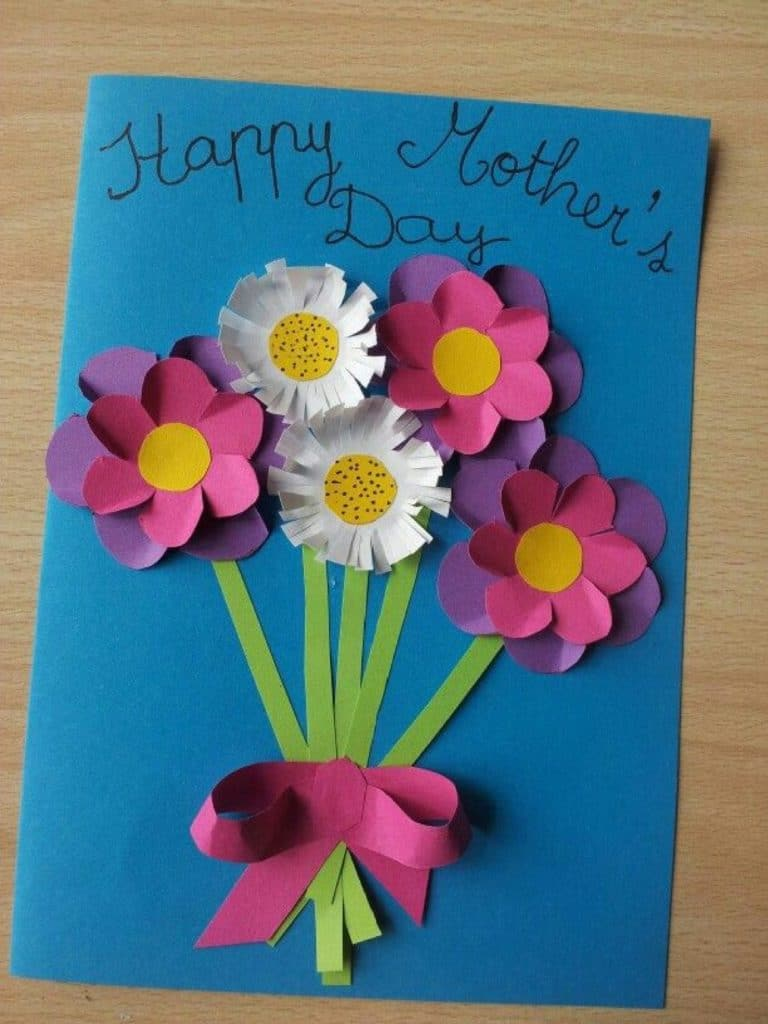 tarjetas para mamá hechas a mano facil