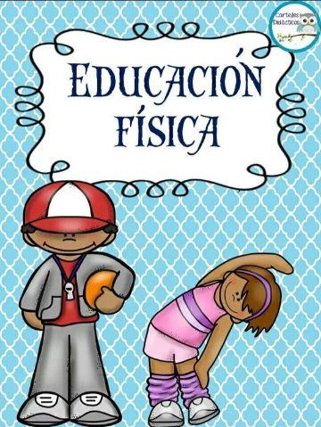 caratulas de educacion fisica de primaria