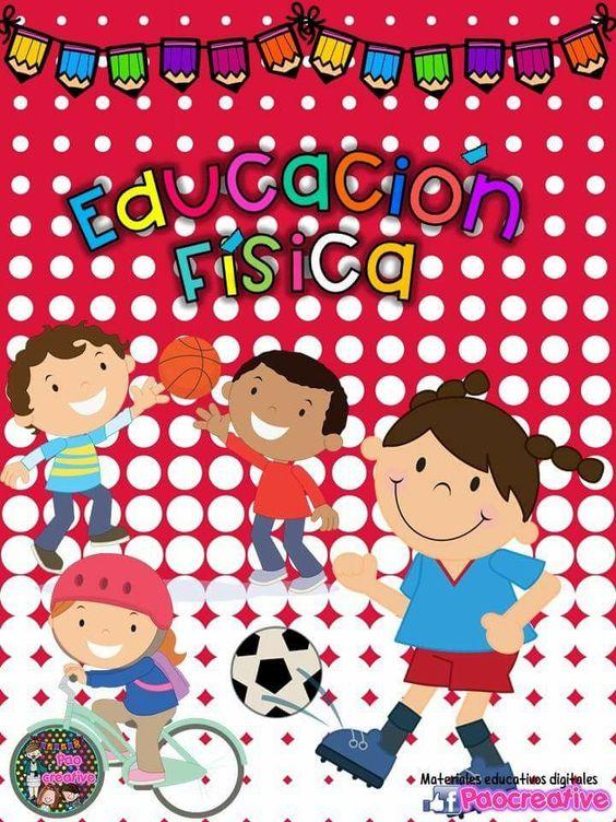 caratulas de educacion fisica para niños
