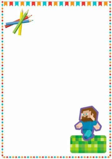 caratulas para niños de primaria con marcos