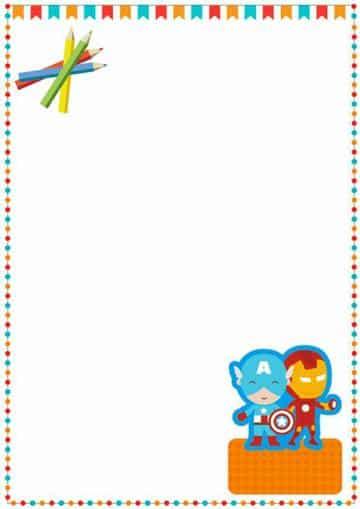 caratulas para niños de primaria faciles