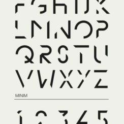 diseños de letras para carteles abecedario