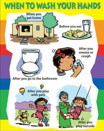 ejemplos de infografia para primaria de higiene