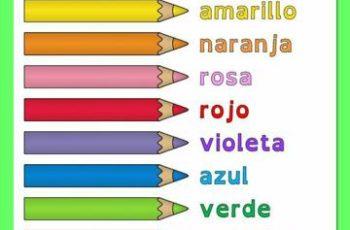 ejemplos de infografia para primaria de los colores