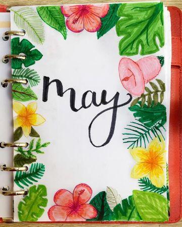 imagenes para portada de libreta con flores
