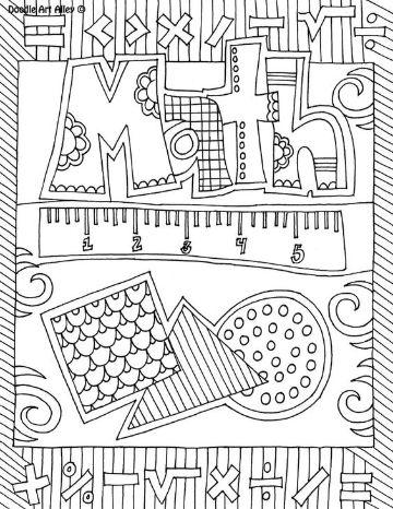 portadas para cuadernos de matematicas a mano
