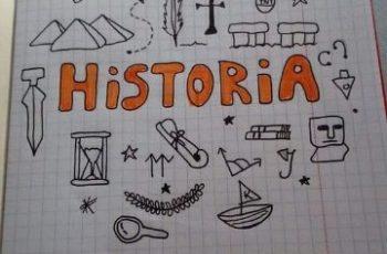 caratulas de historia para cuadernos a mano
