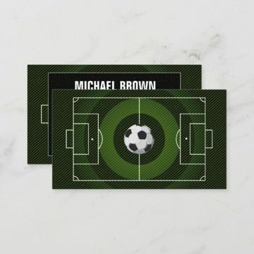fondo para tarjetas de presentacion de futbol