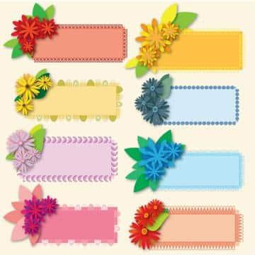 fondos para etiquetas escolares coloridos